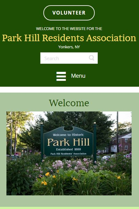 link to park hill yonkers website